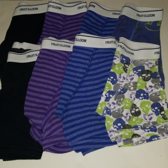 2abb2eb0b07b Fruit of the Loom Other | Bundle Of 8 Boys Size Small Boxer Briefs ...